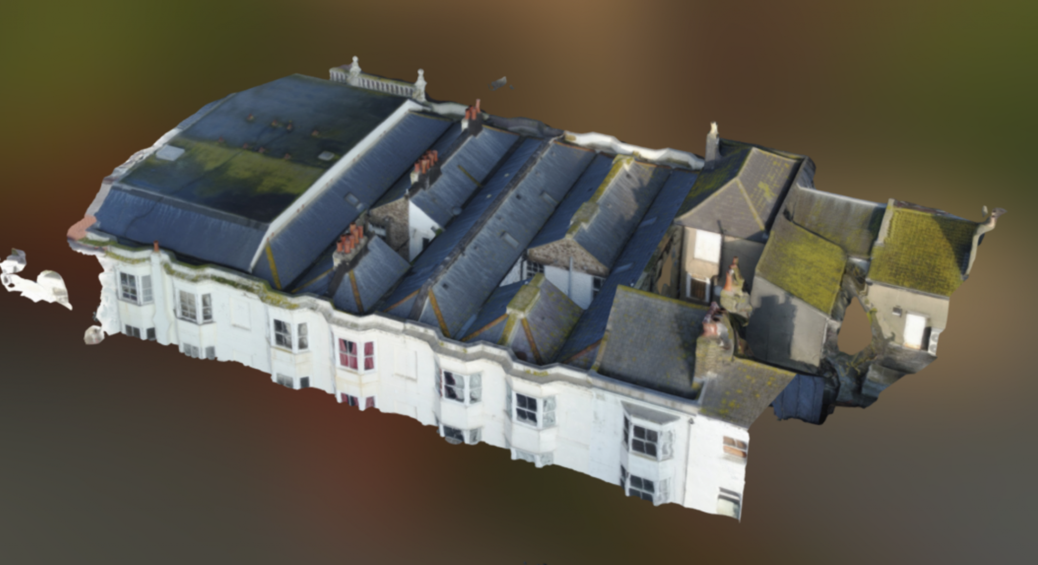 Gaysha commissions first Drone roof survey
