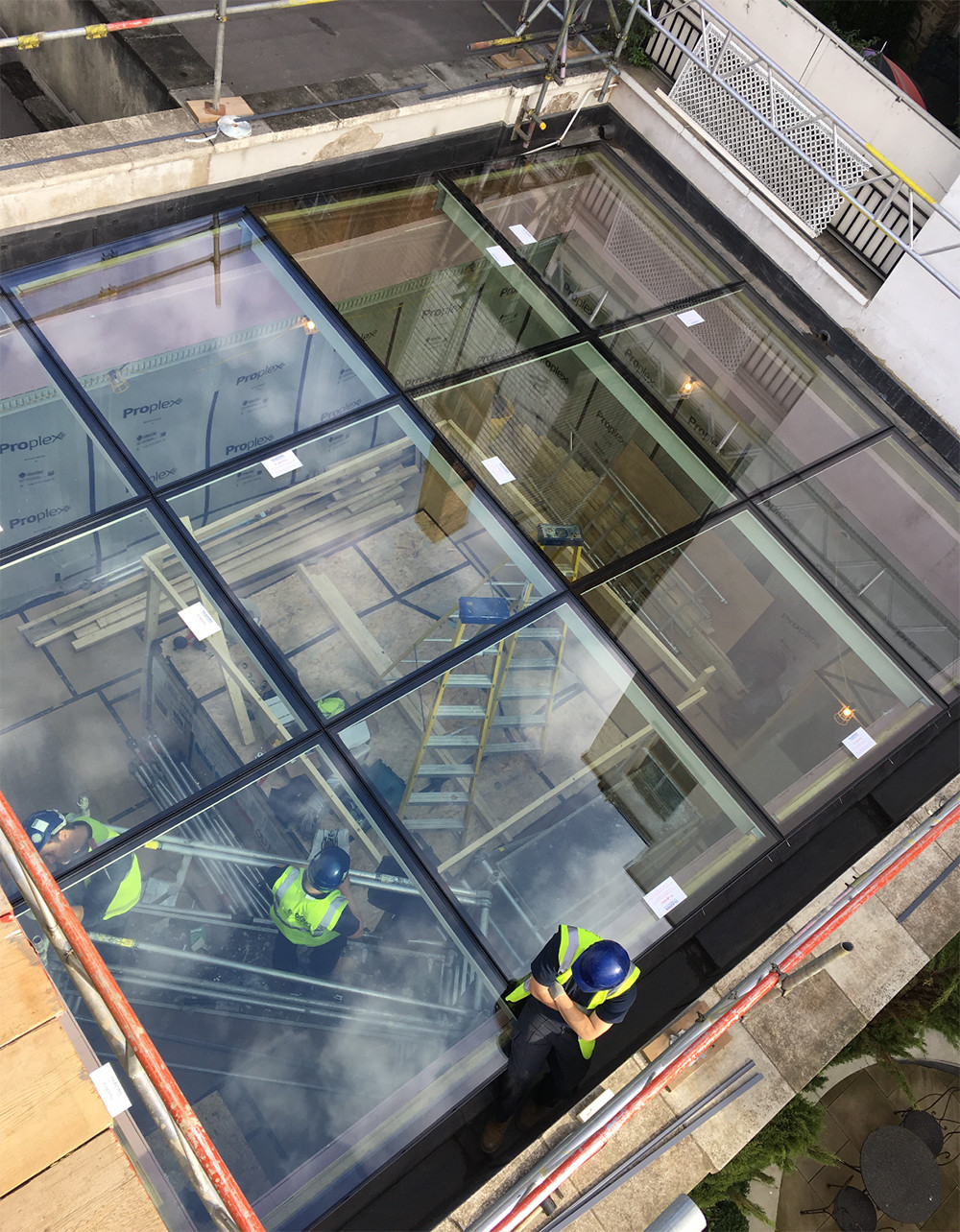 Against The Odds: Eaton Square Skylight Project
