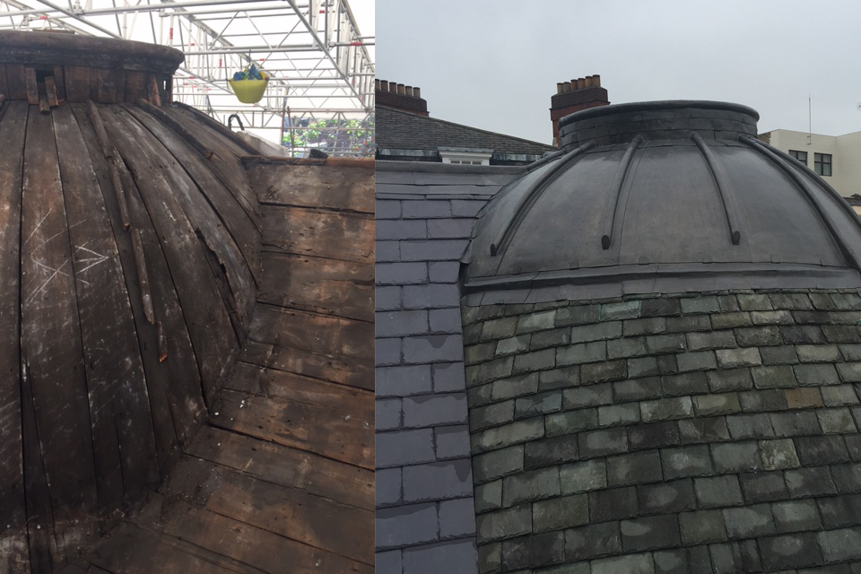 Brook Street Roof Dome