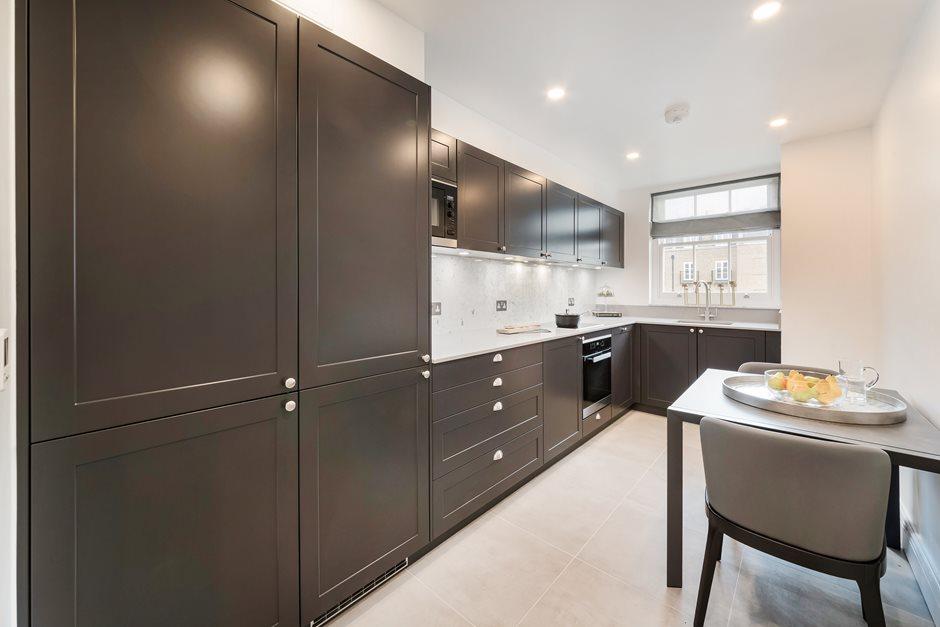 Flat M 45 Eaton Square Kitchen