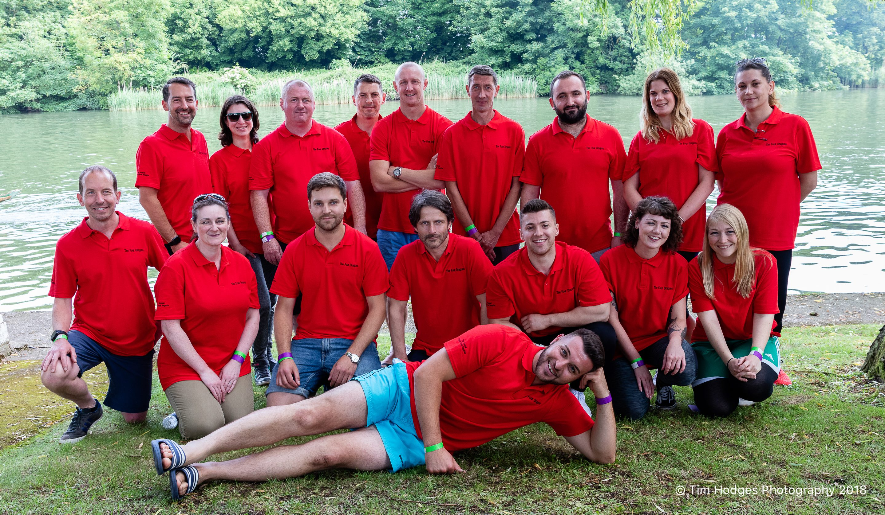 The Four Dragons take bronze in Annual Dragonboat Regatta