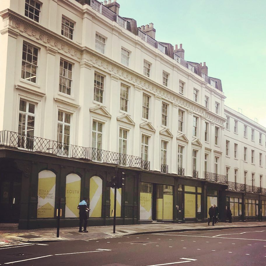 South Belgravia white box units completed