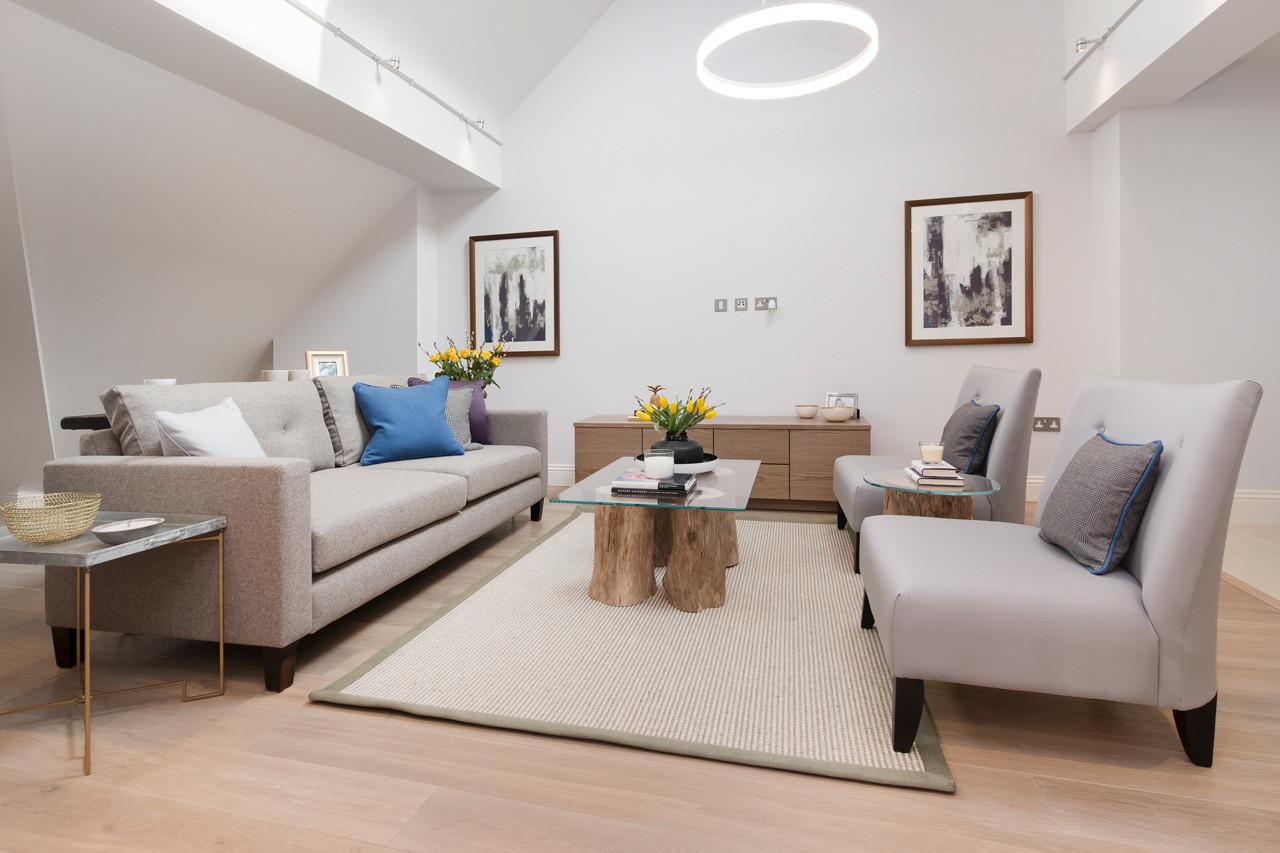 EnerPHit refurbishment - 13 Adams Row, Mayfair - Living Room