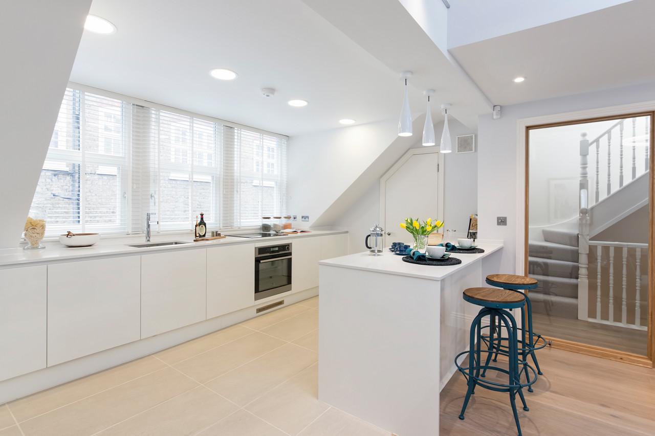 EnerPhit refurbishment - 13 Adams Row, Mayfair - Kitchen