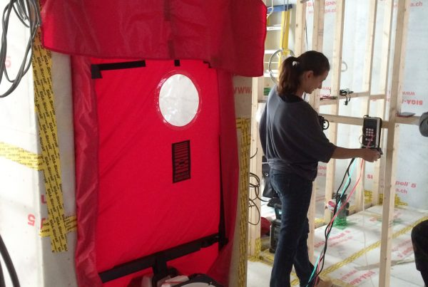Air-tight membrane testing