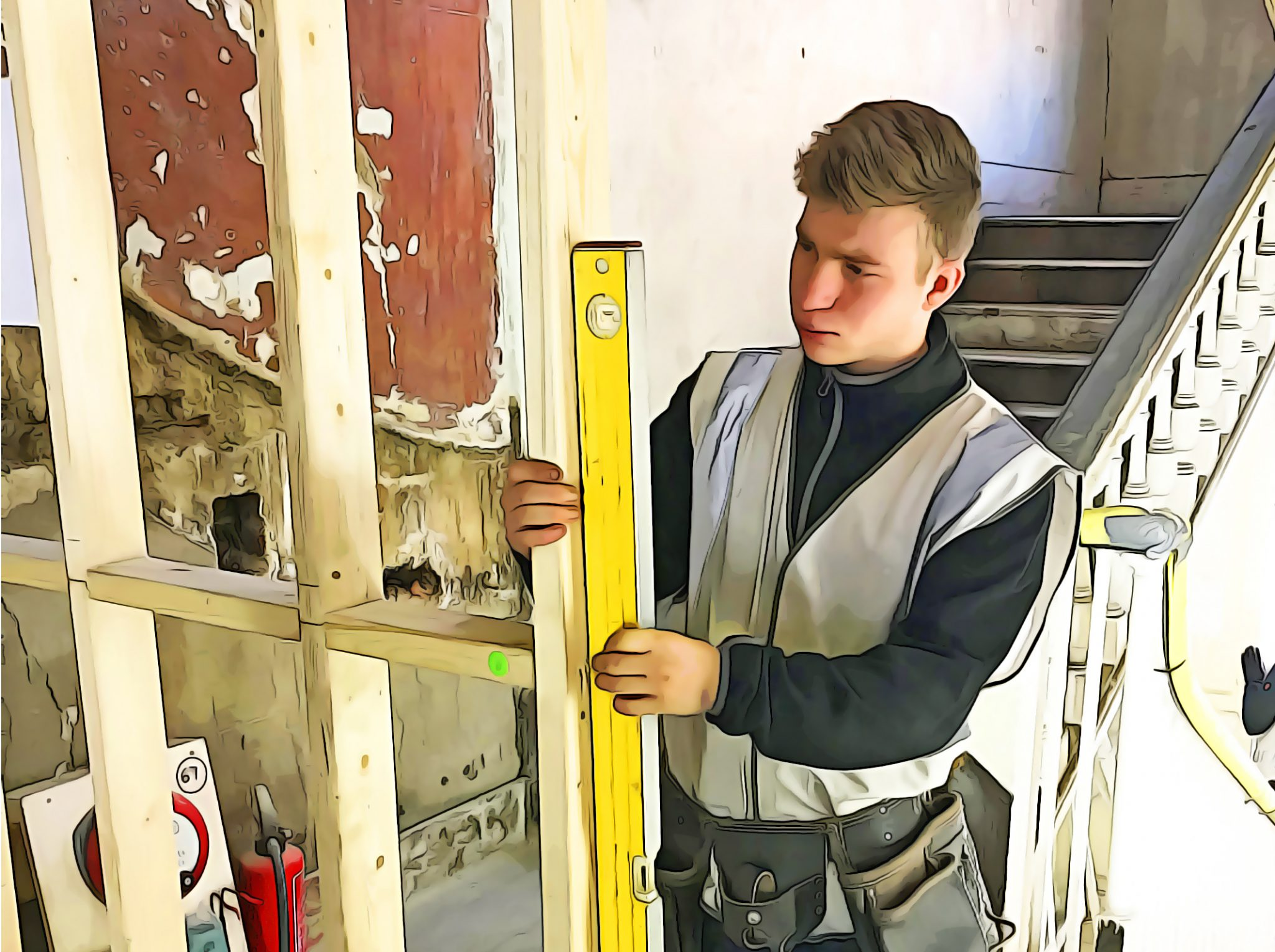 A day in the life of a construction apprentice