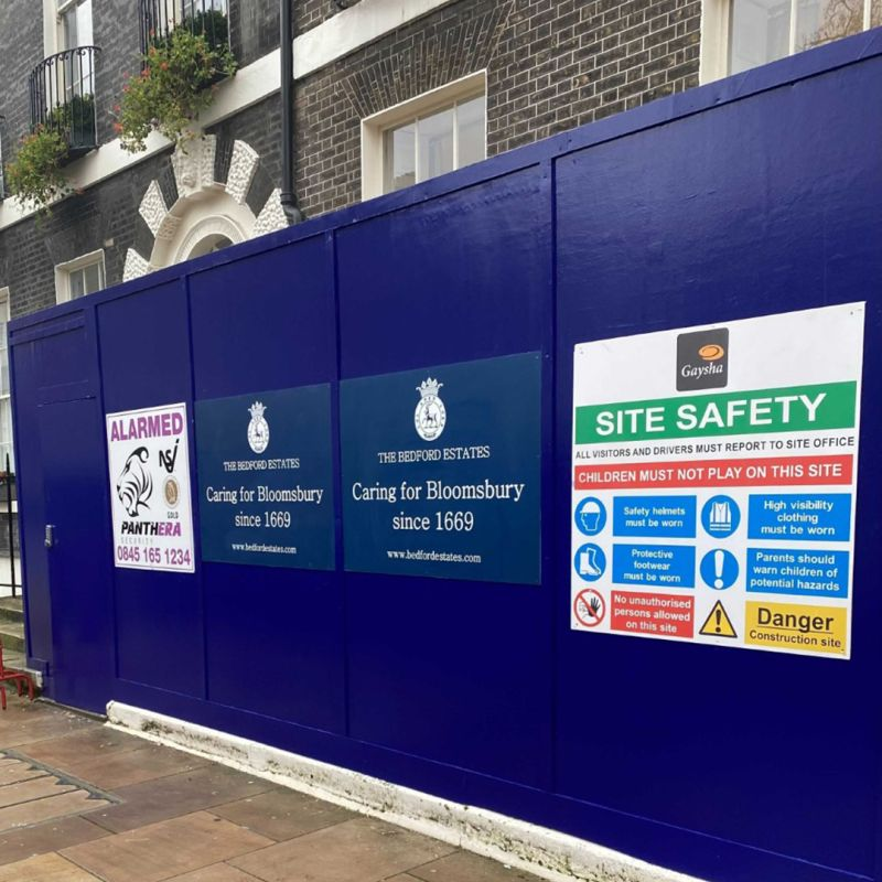 New Grade I Listed Building Refurbishment commences in Bloomsbury