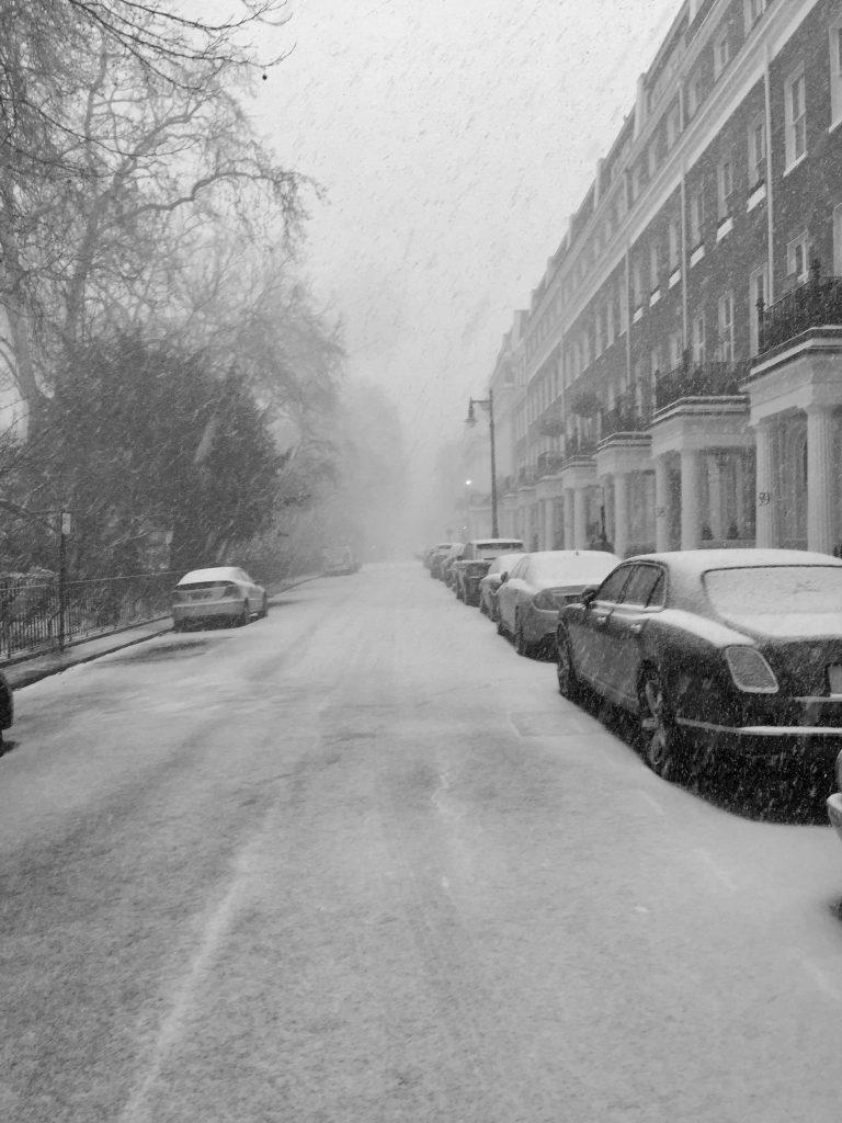 Snow In Eaton Square Gaysha Refurbishment Specialists