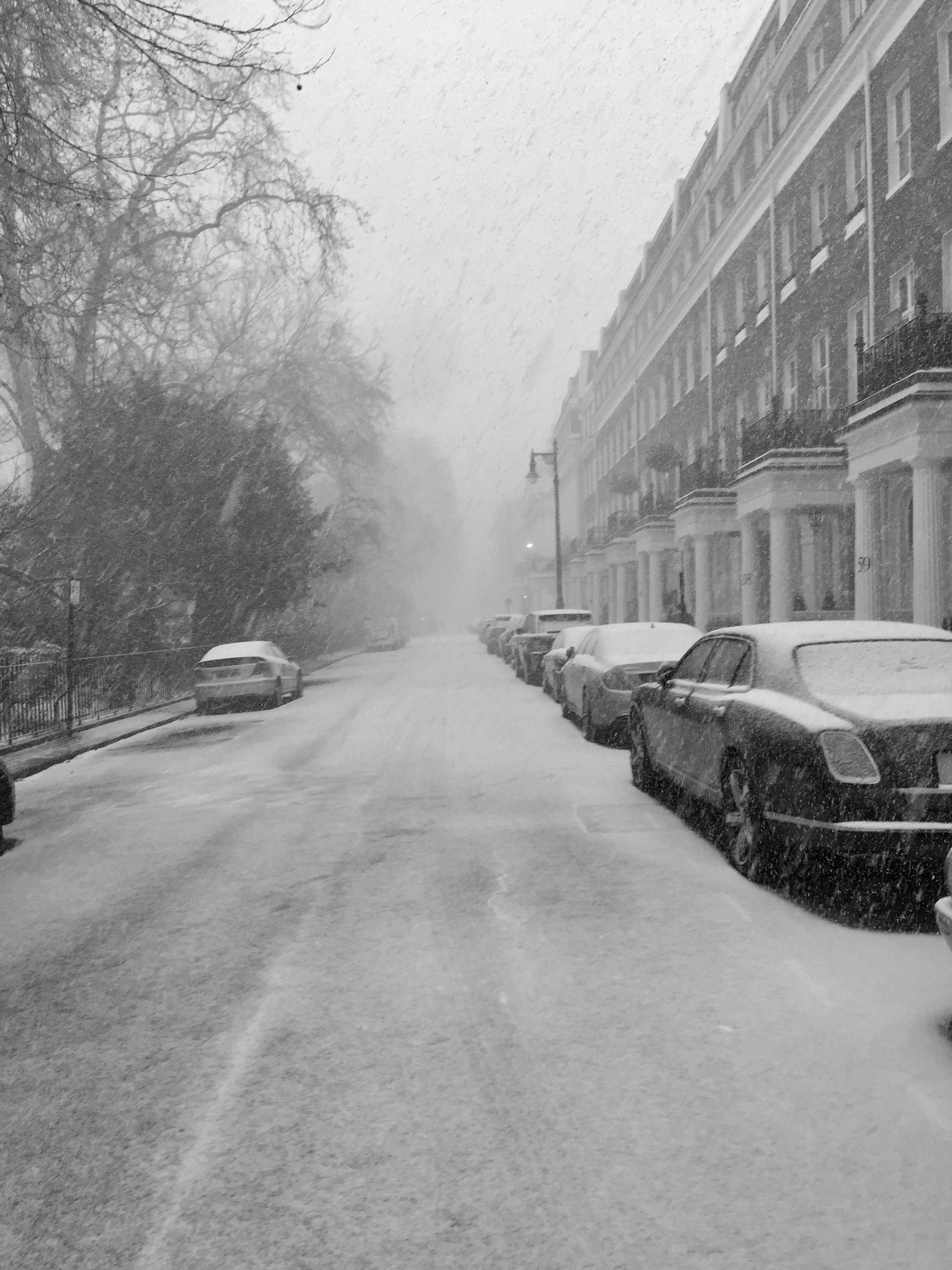 Snow in Eaton Square